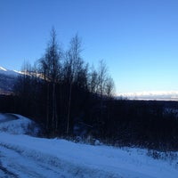 Photo taken at Knik River Road by Whitney H. on 1/27/2013
