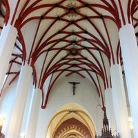 Foto tirada no(a) Thomaskirche por Korhan G. em 2/23/2013