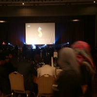 Photo taken at MMU Grand Hall by Thefizz D. on 4/20/2013