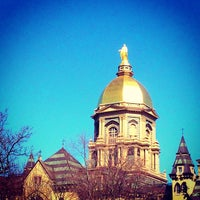 Photo taken at University of Notre Dame by Christopher L. on 4/4/2013