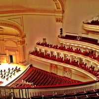 Photo taken at Carnegie Hall by Mylik G. on 2/17/2013