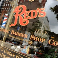 Photo taken at Red's Classic Barber Shop Co. by Men's Health Mag on 8/3/2014