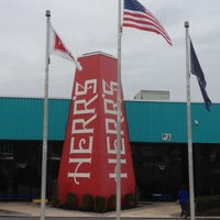 Photo taken at Herr's Snack Factory Tour by Steven T. on 1/15/2013