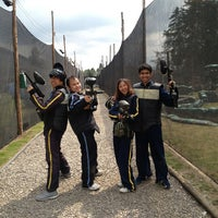 Photo taken at Al Limite Paintball by Edwin S. on 1/13/2013