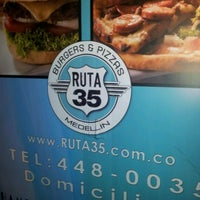 Photo taken at Ruta 35 Burger & Pizza by Ana S. on 1/9/2013