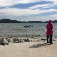 Photo taken at Tanjung Dawai by Afan Z. on 3/25/2017