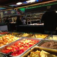 Photo taken at Teppanyaki Grill & Supreme Buffet - Minneapolis by Ken T. on 2/25/2013