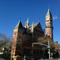 Photo taken at New York Public Library - Jefferson Market by Brittany L. on 2/21/2013
