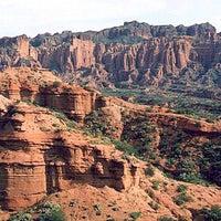 Foto tomada en Parque Nacional Sierra de las Quijadas por Agustina T. el 1/26/2013