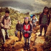 Photo taken at Gunung Sinabung by Aria R. on 8/17/2013