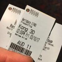 Photo taken at Regal Cinemas Harrisburg 14 by Justa H. on 3/10/2017