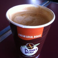 Photo taken at Planet Bean by Peter W. on 1/21/2013