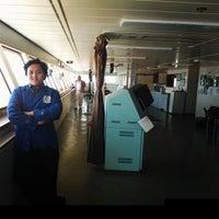 Photo taken at Terminal Penumpang Nusantara Pelabuhan Tanjung Priok by Ryan Rakhmad H. on 8/17/2014