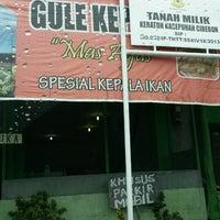"""Photo taken at Gule Kepala Ikan """"Mas Agus"""" by Kimp H. on 12/30/2013"""