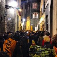 Photo taken at Via dei Georgofili by Alessandro G. on 5/26/2013