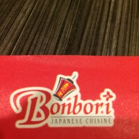 Photo taken at Bonbori Japanese Cuisine by Lee L. on 1/12/2017