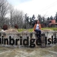Photo taken at Bainbridge Island by Büşra Ü. on 3/5/2018