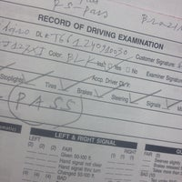 Photo taken at Division Of Driver's License by Felipe T. on 11/19/2013