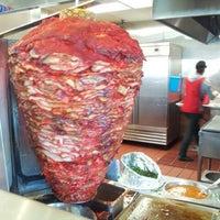 Photo taken at Tacos El Gordo by Oliver N. on 1/14/2013
