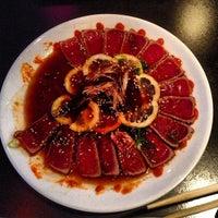 Photo taken at Arigato Sushi by katie b. on 5/13/2013
