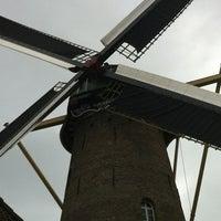 Photo taken at Molen De Volharding by Diek R. on 10/20/2012