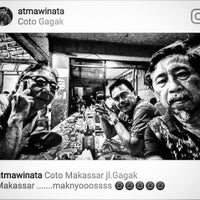 Photo taken at Aroma Coto Gagak by atmawinata a. on 8/11/2017