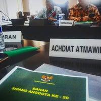 Photo taken at Kementerian Energi dan Sumber Daya Mineral RI by atmawinata a. on 1/23/2017