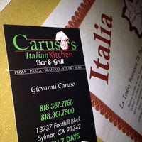 Photo taken at Caruso's Italian Food by Giselle M. on 1/3/2014