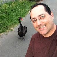 Photo taken at Gungahlin Lakes Golf Club by Fábio R. on 11/15/2012