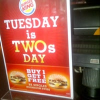 Photo taken at Burger King by Luthfan M. on 9/25/2012