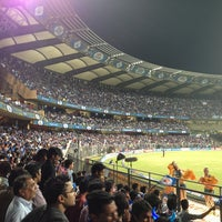 Photo taken at Wankhede Stadium by Sherel J. on 4/9/2013