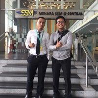 Photo taken at Menara Suruhanjaya Syarikat Malaysia (SSM) by ShafiqHamann on 11/16/2016