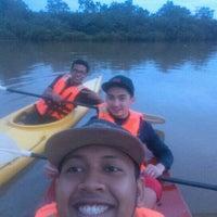 Photo taken at kayak under pulau melaka bridge by Syahmi S. on 11/29/2015