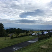 Photo taken at 牛岳パノラマオートキャンプ場 きらら by shinoboo.gk on 9/22/2017