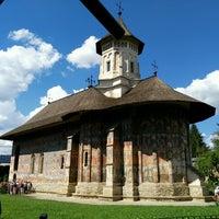 Photo taken at Biserica Mânăstirii Moldovița by Antonio N. on 8/29/2016