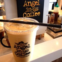 Photo taken at Angel-in-us Coffee by Silvia G. on 7/17/2013