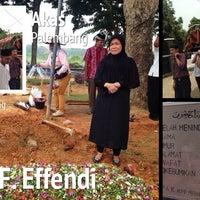 Photo taken at Kebun Bunga Cemetery by Ferdy A. on 3/6/2014