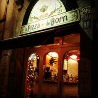 Foto tomada en La Pizza del Born por duda b. el 1/5/2013