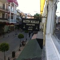 Photo taken at Altın Makas Kuafor by Ayşe G. on 5/3/2015