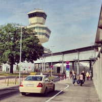 Photo taken at Berlin Tegel Otto Lilienthal Airport (TXL) by Ben M. on 8/22/2013