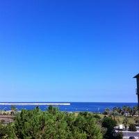 Photo taken at NH Jolly Hotel Palermo by Zarina H. on 10/25/2012