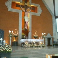Photo taken at Gereja Katolik Redemptor Mundi by margaretha m. on 11/11/2012