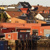 Photo taken at Florø by Andreas K. on 4/10/2016