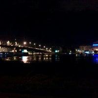Photo taken at Pont de Bizerte by Skander A. on 1/6/2013