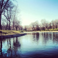 Photo taken at Parc La Fontaine by Alexandra G. on 4/21/2013