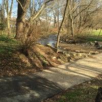 Photo taken at Bluemont Park by Becky K. on 4/4/2015