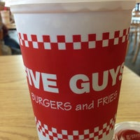 Photo taken at Five Guys by Becky K. on 8/6/2014