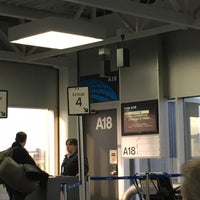 Photo taken at Gate A18 by David C. on 1/4/2017