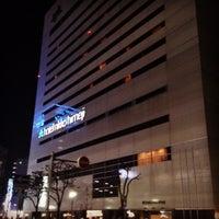 Photo taken at Hotel Nikko Himeji by Tatsuya D. on 3/18/2013