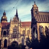 Photo taken at Košice by Irina D. on 11/11/2012